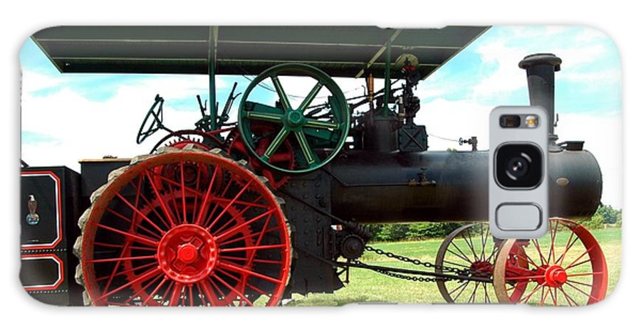 Old Galaxy S8 Case featuring the photograph Old Steam Engine by Kathleen Struckle