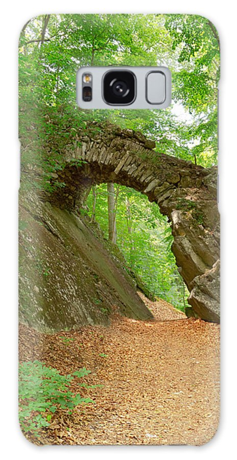 Architecture Galaxy S8 Case featuring the photograph Old Stone Bridge by Jaroslav Frank