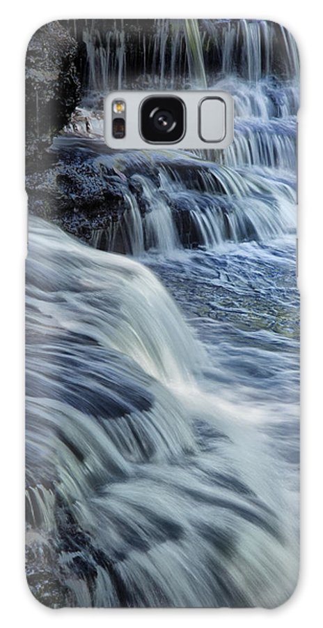 Water Galaxy S8 Case featuring the photograph Old Stone Fort Waterfall by Diana Powell