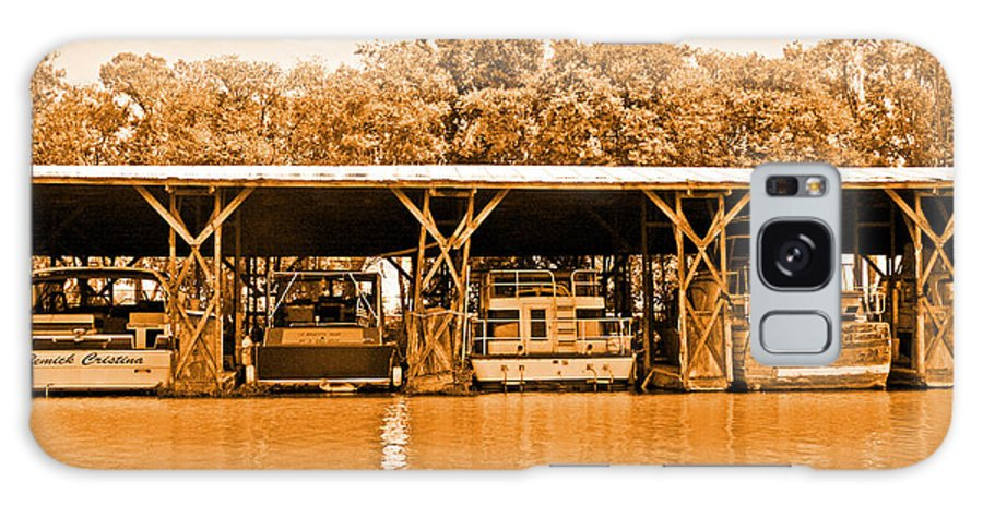 Delta Marinas Galaxy S8 Case featuring the photograph Old Timers At Berth by Joseph Coulombe