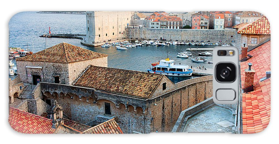 Dubrovnik Galaxy S8 Case featuring the photograph Old Town Of Dubrovnik by Artur Bogacki