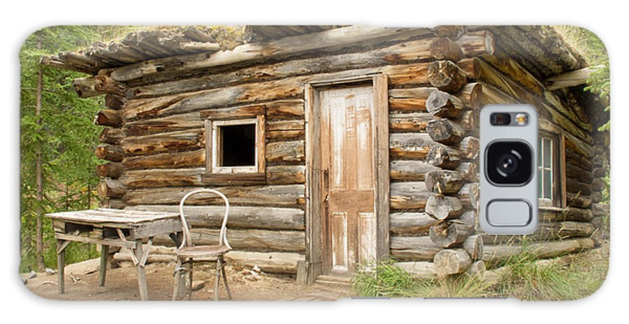 Architecture Galaxy S8 Case featuring the photograph Old Traditional Log Cabin Rotting In Yukon Taiga by Stephan Pietzko