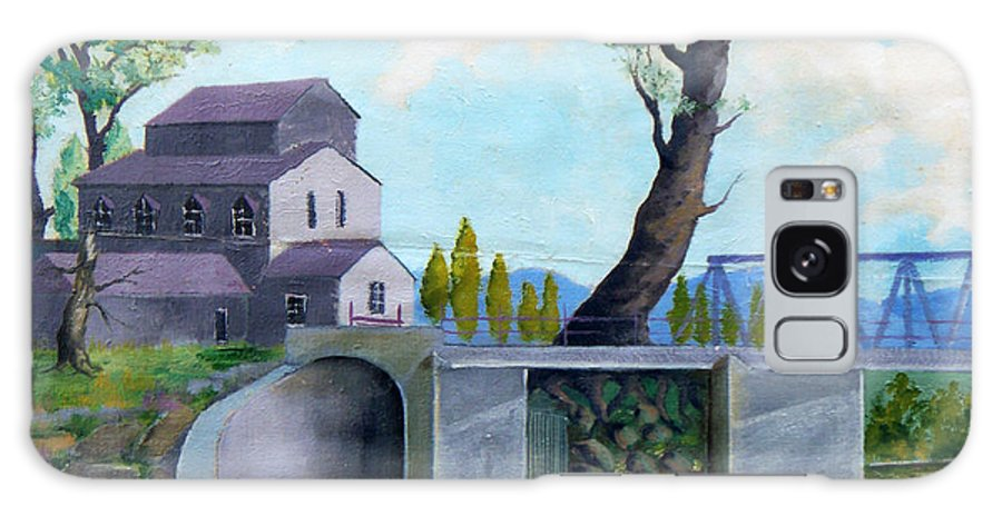 Old Galaxy S8 Case featuring the painting Old Water Mill by Sergey Bezhinets