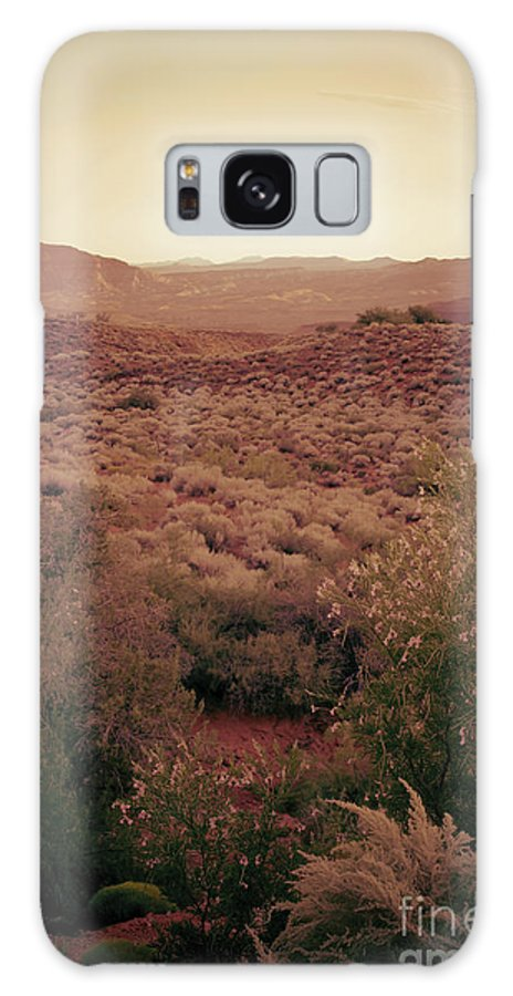 Photo Galaxy S8 Case featuring the photograph Old West by Kim Marshall
