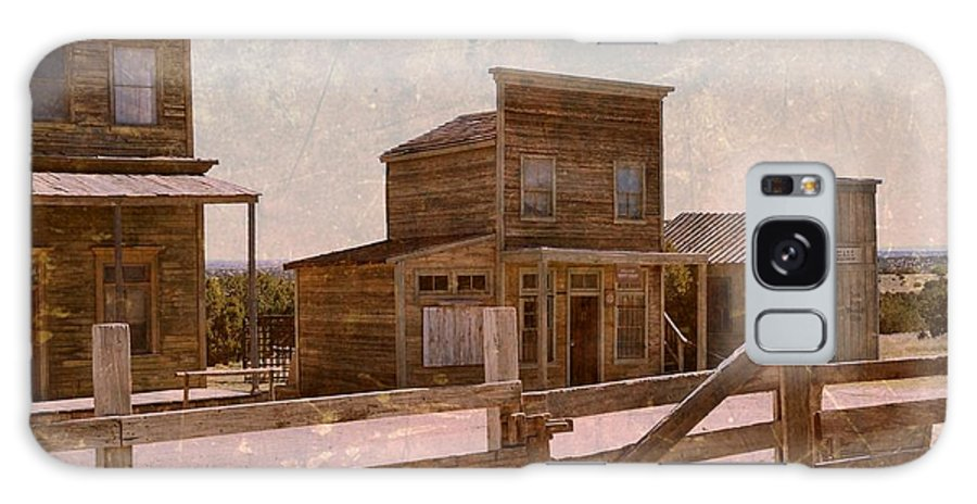 Western Galaxy S8 Case featuring the photograph Old West Scene by Dan Vallo