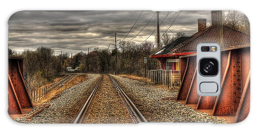Train Tracks Galaxy S8 Case featuring the photograph On Track by Thomas Young