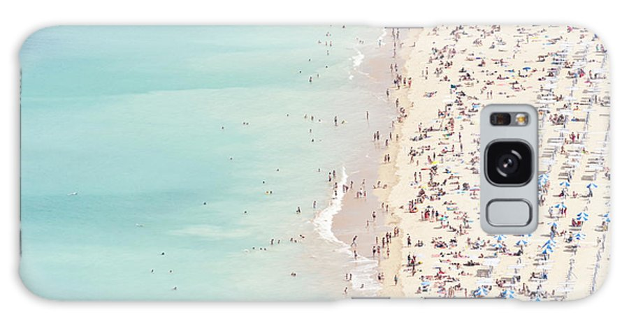 Water's Edge Galaxy Case featuring the photograph Ondarreta Beach, San Sebastian, Spain by John Harper