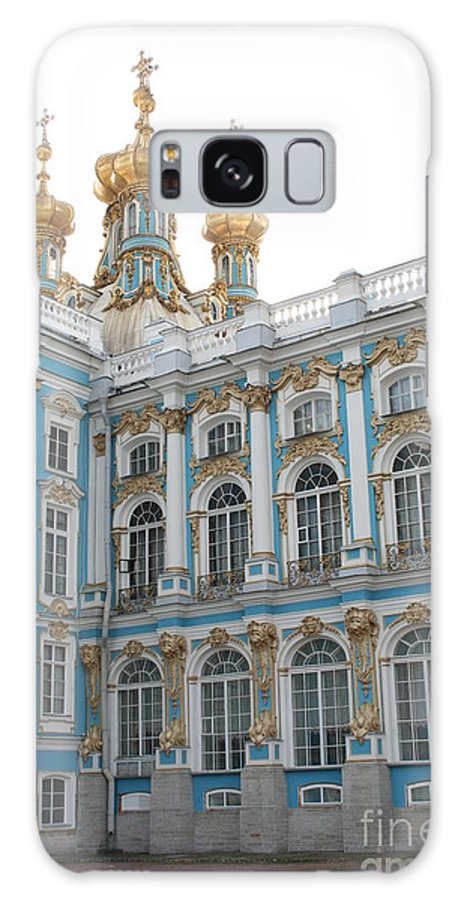 Palace Galaxy S8 Case featuring the photograph Onion Domes - Katharinen Palace - Russia by Christiane Schulze Art And Photography