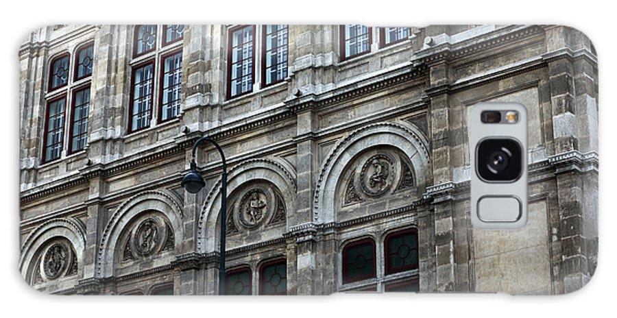 Opera House Windows Galaxy S8 Case featuring the photograph Opera House Windows by John Rizzuto