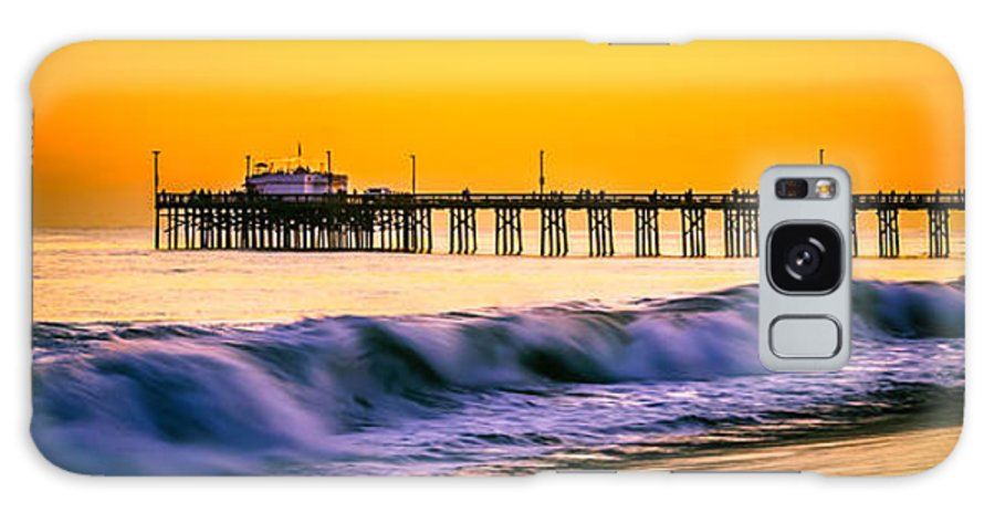America Galaxy S8 Case featuring the photograph Orange County Panoramic Sunset Picture by Paul Velgos