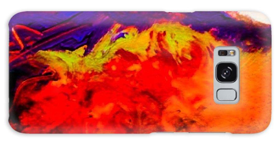 Galaxy S8 Case featuring the painting Orange Crush by IAMJNICOLE JanuaryLifeBrand