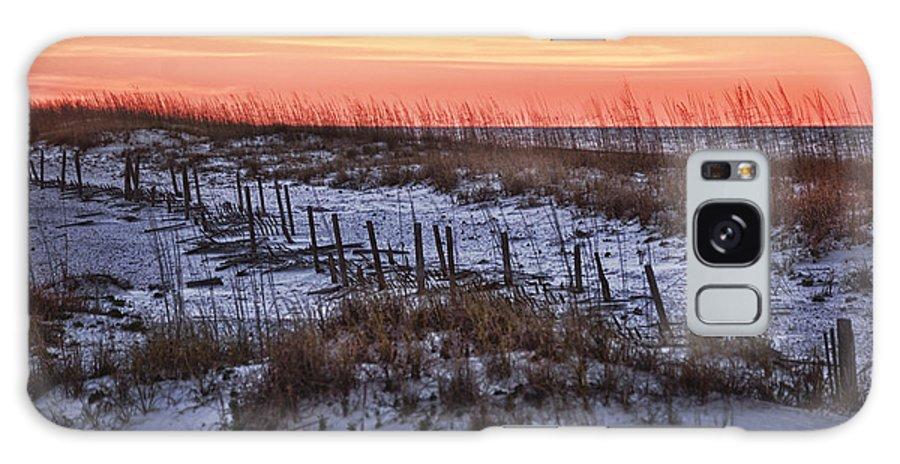 Alabama Galaxy S8 Case featuring the photograph Orange Dawn by Michael Thomas