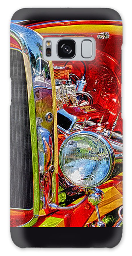 Ron Roberts Galaxy S8 Case featuring the photograph Orange Ford by Ron Roberts