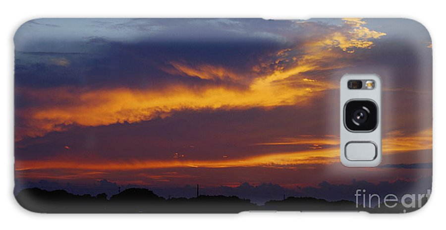 Sunset Galaxy S8 Case featuring the photograph Orange Sky Afternoon by Jeff Waugh