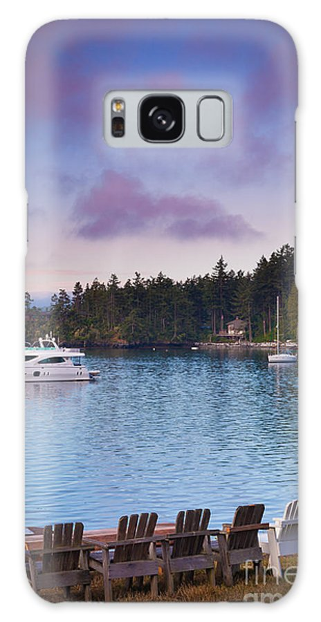 America Galaxy S8 Case featuring the photograph Orcas Viewpoint by Inge Johnsson