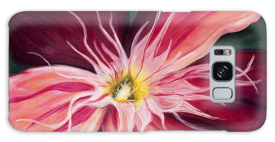 Orchid Galaxy S8 Case featuring the painting Orchid by Dana Strotheide