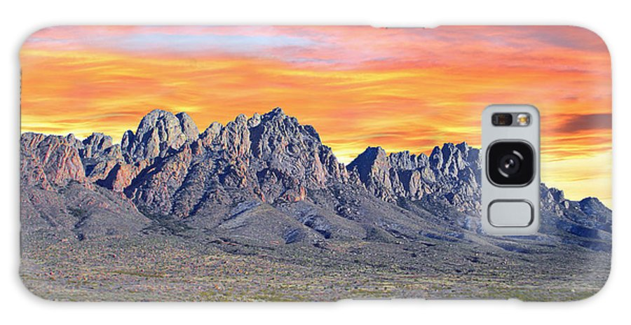 Sun Galaxy S8 Case featuring the photograph Organ Mountain Sunrise by Jack Pumphrey