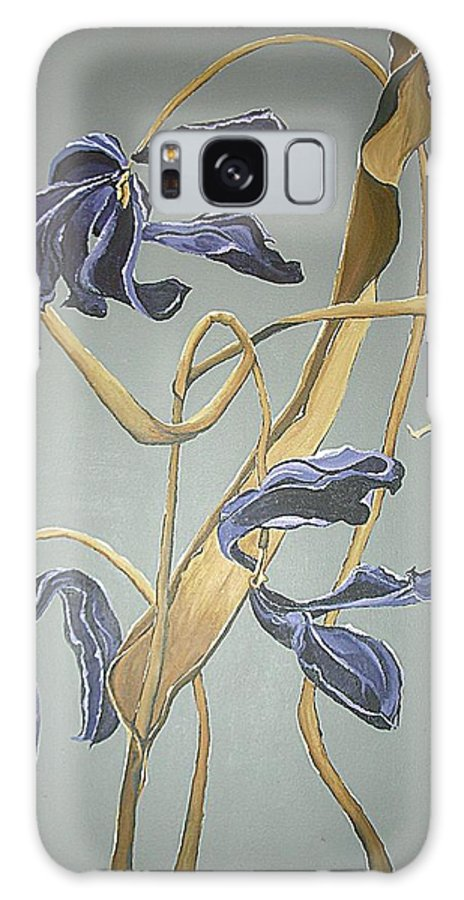 Modern Art Galaxy S8 Case featuring the painting Organic 3 by Megan Washington