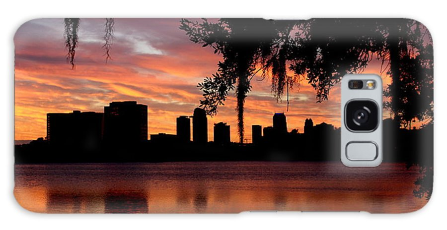 Orlando Night Lights Galaxy S8 Case featuring the photograph Orlando Sunrise by Frank Selvage