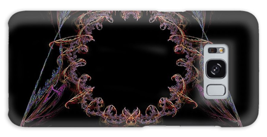 Stargate Galaxy S8 Case featuring the painting Ornate Stargate by Bruce Nutting