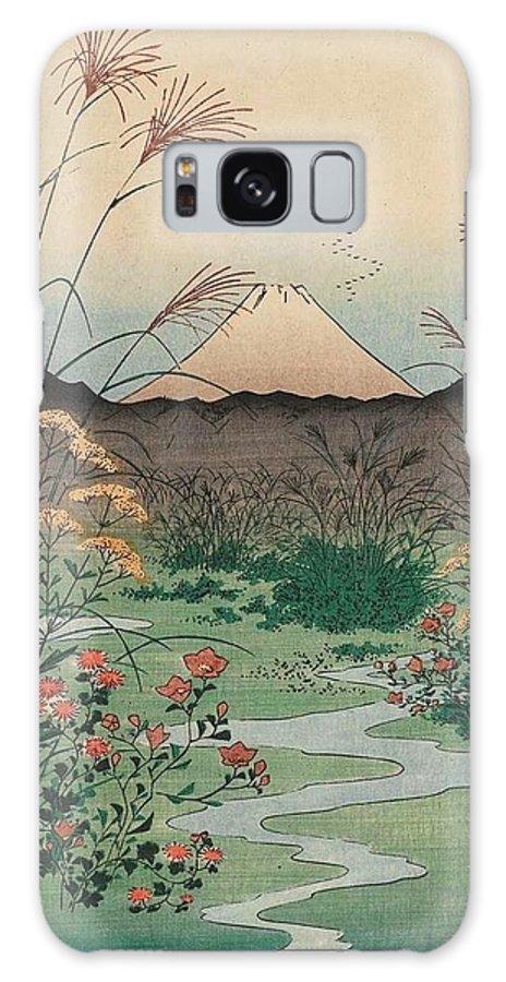 1858 Galaxy Case featuring the painting Otsuki Plain In Kai Province by Utagawa Hiroshige