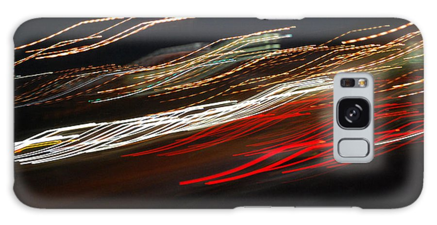 Abstract Galaxy S8 Case featuring the photograph Out Of Control by Maggy Marsh