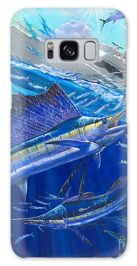 Sailfish Galaxy S8 Case featuring the painting Out Of Sight by Carey Chen