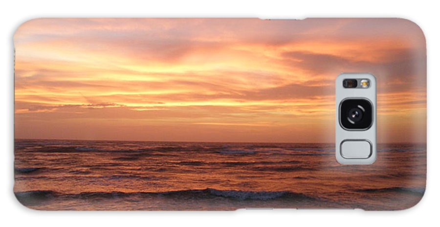 Sunset Galaxy S8 Case featuring the photograph Outer Banks Sunset - Buxton - Hatteras Island by Mother Nature