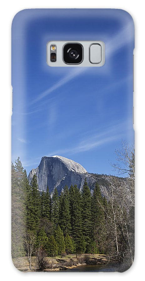 California Galaxy S8 Case featuring the photograph Over Half Dome by Ross Murphy