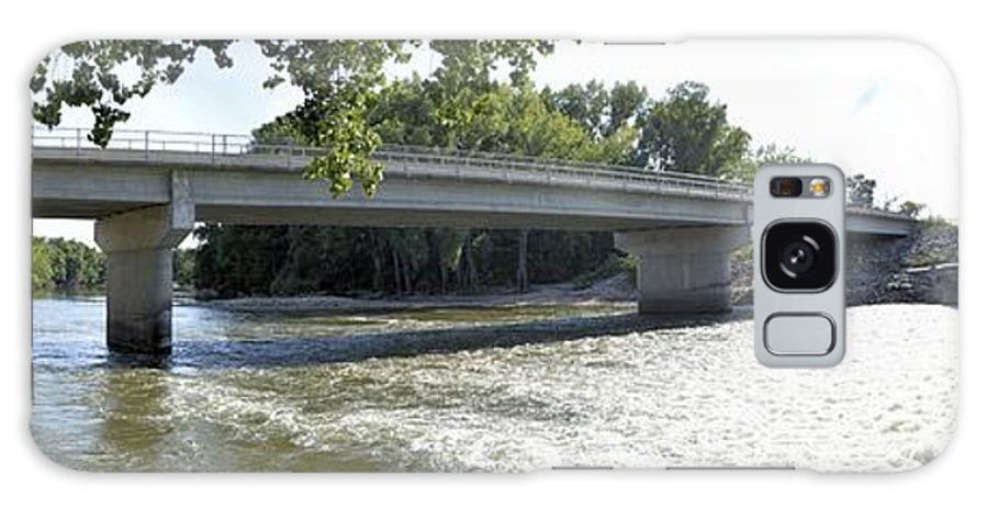 Bridge Galaxy S8 Case featuring the photograph Over The River by Bonfire Photography