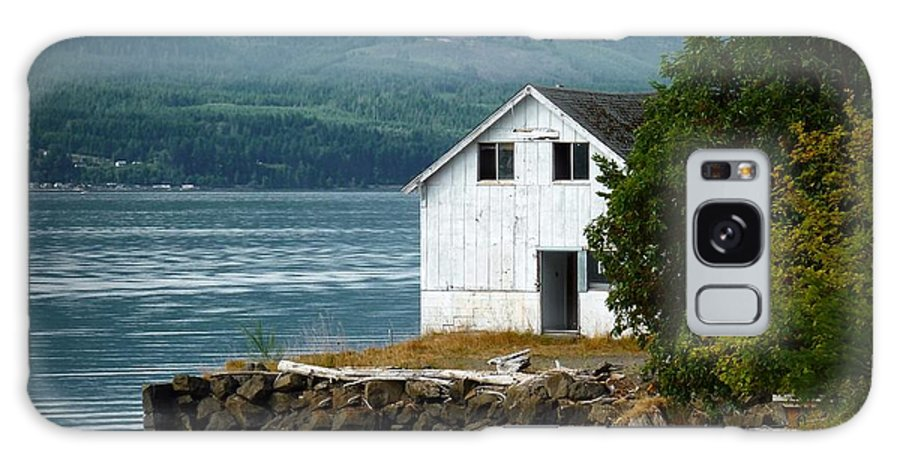 Hood Canal Galaxy S8 Case featuring the photograph Old Oyster Shack by Patricia Strand