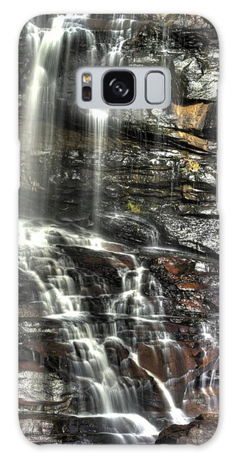 West Virginia Galaxy S8 Case featuring the photograph Pachinko - Blackwater Falls State Park Wv Autumn Mid-morning by Michael Mazaika