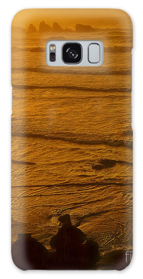 Dave Welling Galaxy S8 Case featuring the photograph Pacific Ocean Sunset Bandon Beach Oregon by Dave Welling