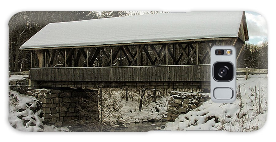 Bridge Galaxy S8 Case featuring the photograph Packard Hill Bridge by Mike Martin