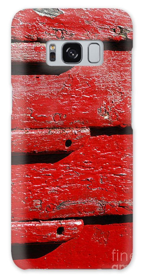 Painting It Red Galaxy S8 Case featuring the photograph Painting It Red by Wendy Wilton