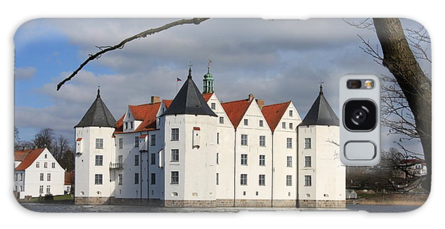 Palace Galaxy S8 Case featuring the photograph Palace Gluecksburg - Germany by Christiane Schulze Art And Photography