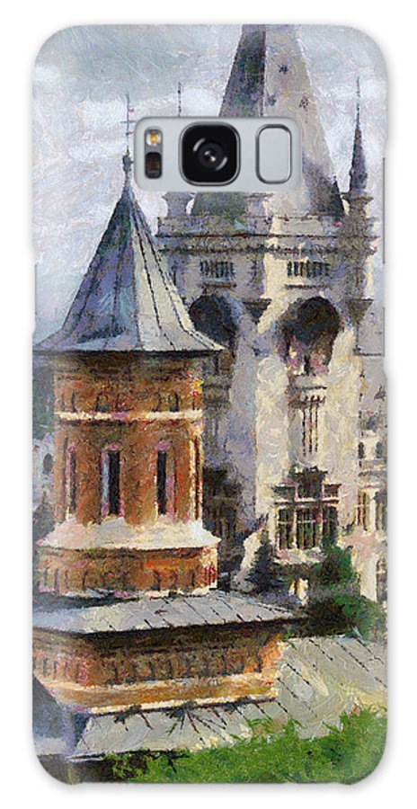 Chapel Galaxy S8 Case featuring the painting Palace Of Culture by Jeffrey Kolker
