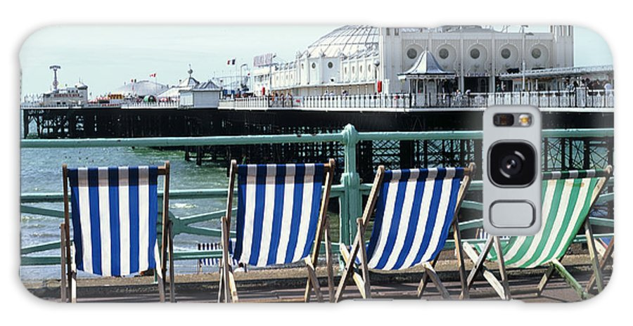 Uk Galaxy S8 Case featuring the photograph Palace Pier Brighton by Christopher Rees