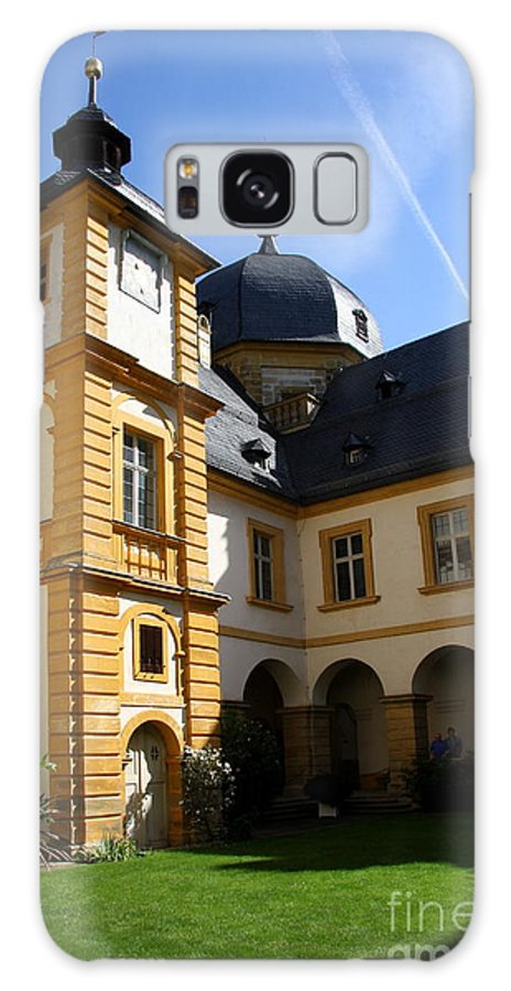 Franken Galaxy S8 Case featuring the photograph Palace Seehof Courtyard by Christiane Schulze Art And Photography