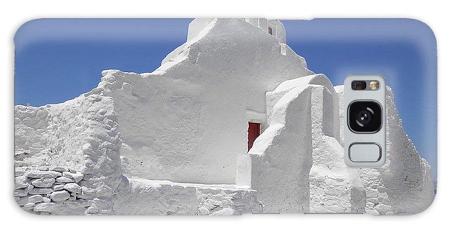 Church Galaxy S8 Case featuring the photograph Panagia Paraportiani Church Of Mykonos by Pema Hou