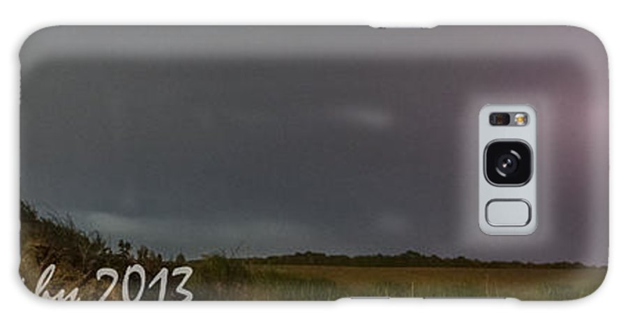 Galaxy S8 Case featuring the photograph Pano Lightning by Paul Brooks