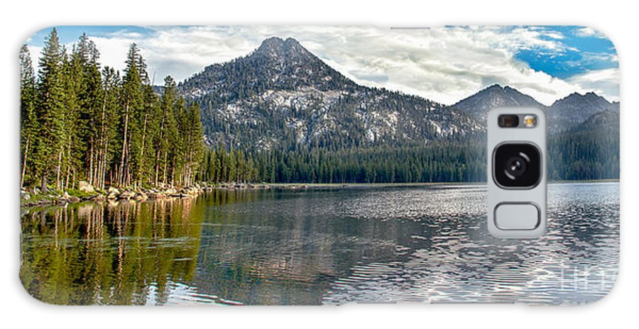 Wallowa Mountains Galaxy S8 Case featuring the photograph Panoramic Of Anthony Lake by Robert Bales