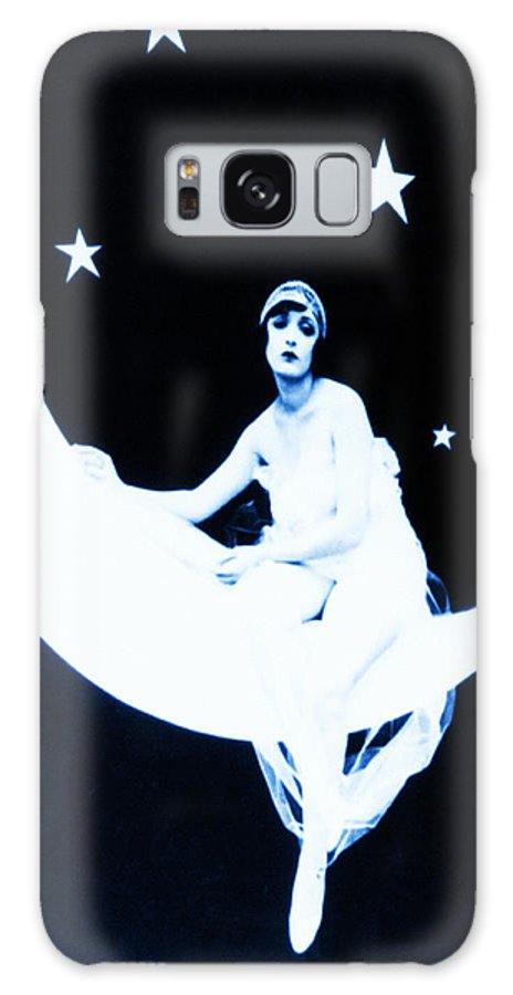 Paper Galaxy S8 Case featuring the photograph Paper Moon by Bill Cannon