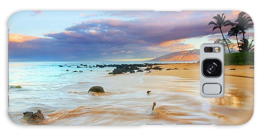 Sunrise Galaxy S8 Case featuring the photograph Paradise Dawn by Mike Dawson