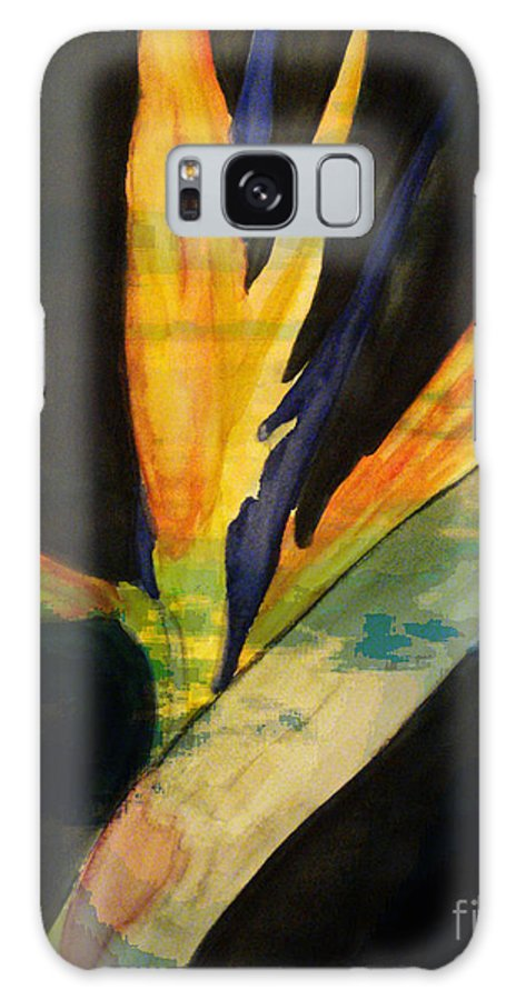 Digital Art Flower Galaxy S8 Case featuring the digital art Paradise II by Yael VanGruber