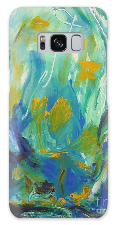 Spring Time Galaxy S8 Case featuring the painting Spring Time by Fereshteh Stoecklein