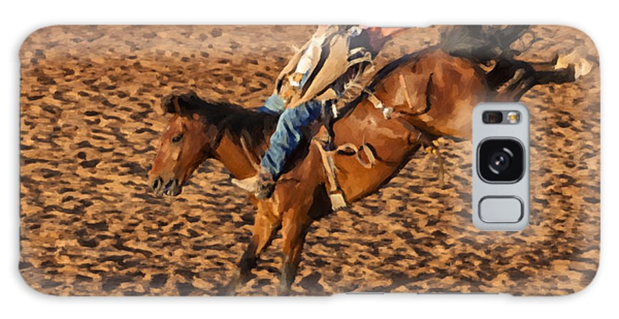 Cowboy Galaxy S8 Case featuring the digital art Parallel by Jack Milchanowski