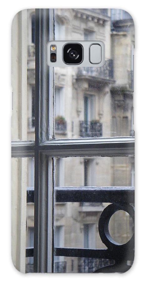 Paris Galaxy S8 Case featuring the photograph Paris Window by David McCadden
