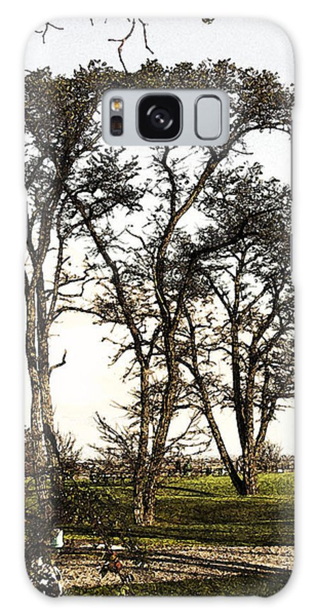 Trees Galaxy S8 Case featuring the photograph Park At Blackie Spit by Til Mikal