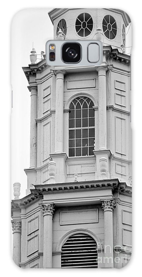 Church Galaxy S8 Case featuring the photograph Park Street Church Boston by Staci Bigelow